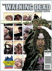 The Walking Dead Official Magazine #1 Midtown Comics Michonne Variant Cover Titan Magazines